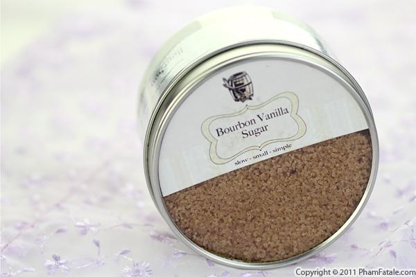 Bourbon Vanilla Sugar Recipe with Picture