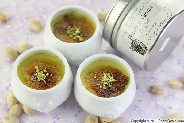 Pistachio Dessert: Pistachio Creme Brulee Recipe (+Giveaway) Recipe